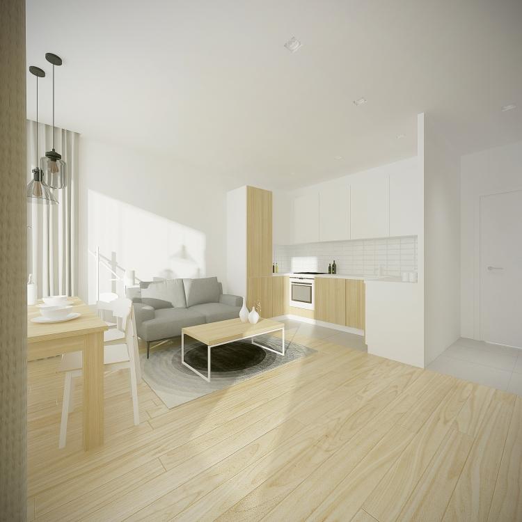 Mieszkanie GDSK Garnizon-3