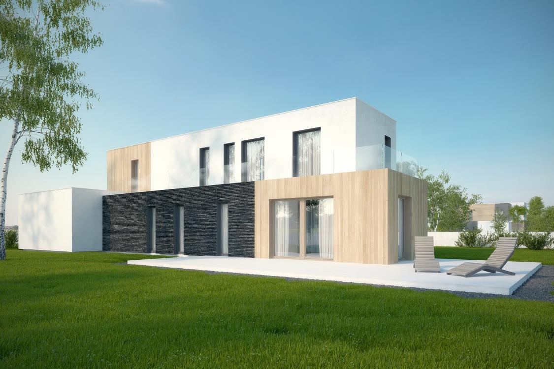 Modułowy dom jednorodzinny