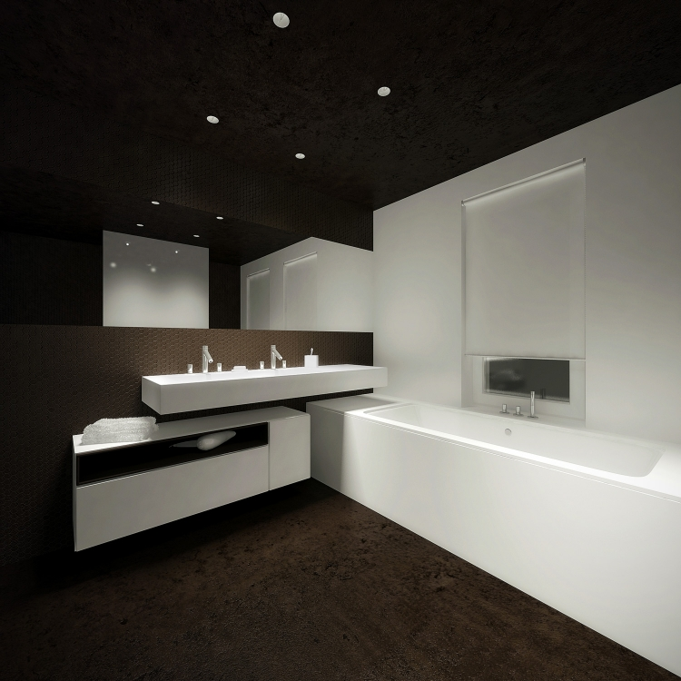 Łazienka w domu jednorodzinnym-1