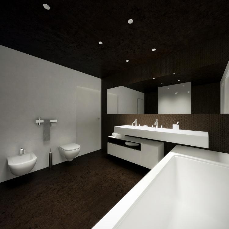 Łazienka w domu jednorodzinnym-2