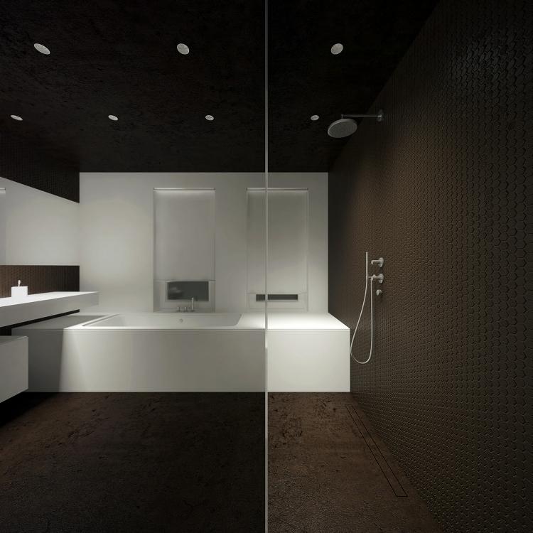 Łazienka w domu jednorodzinnym-3