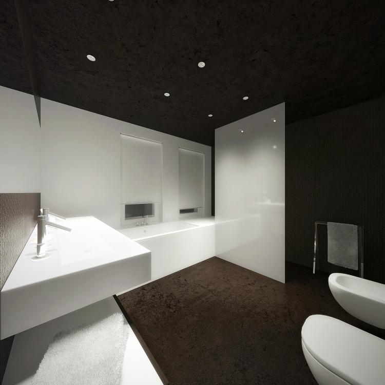 Łazienka w domu jednorodzinnym-4