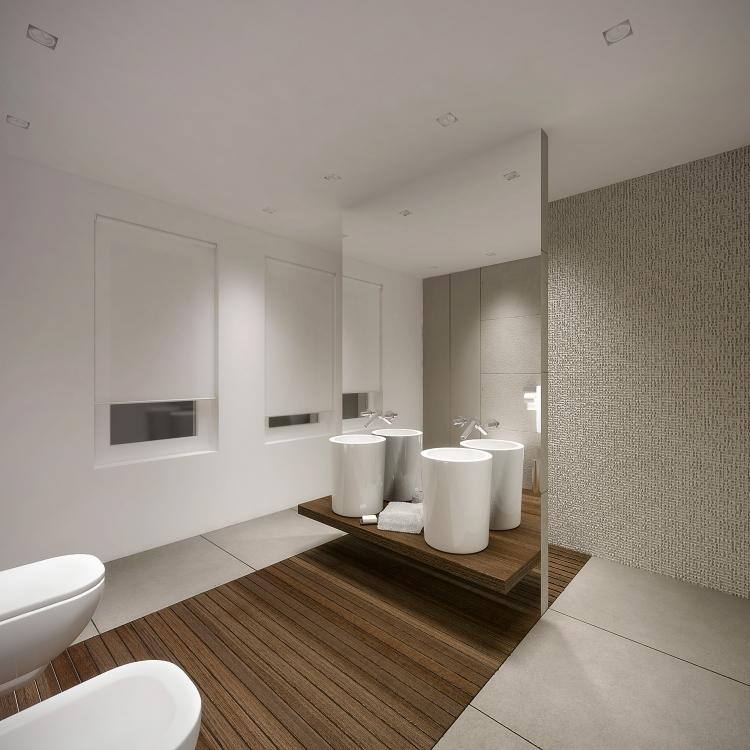 Łazienka w domu jednorodzinnym-5