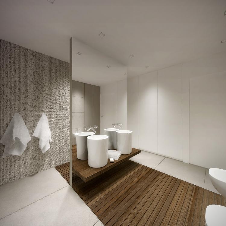Łazienka w domu jednorodzinnym-7
