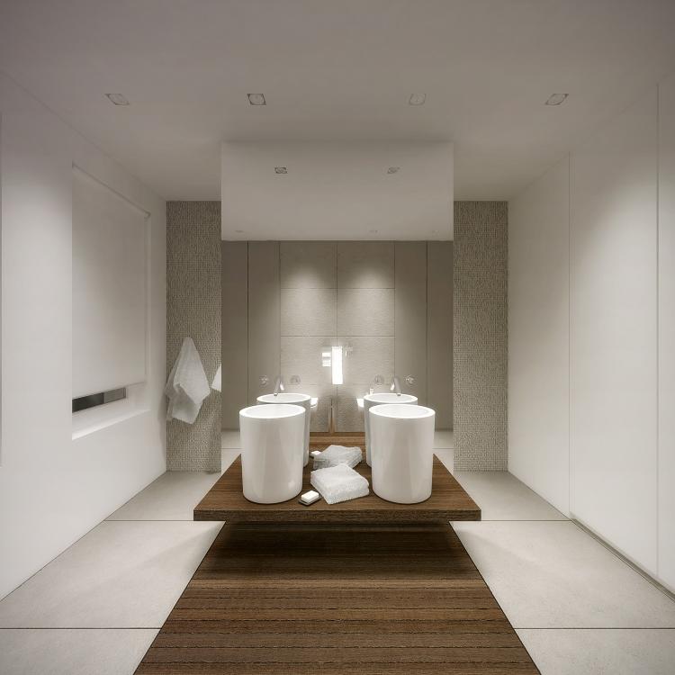 Łazienka w domu jednorodzinnym-8