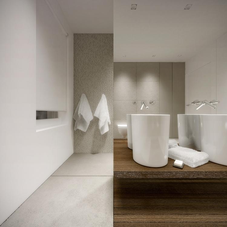 Łazienka w domu jednorodzinnym-9